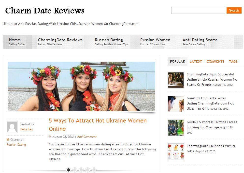 Dating website ukraine