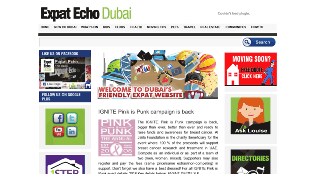 Expatriates Dubai and Abu Dhabi, UAE expat network