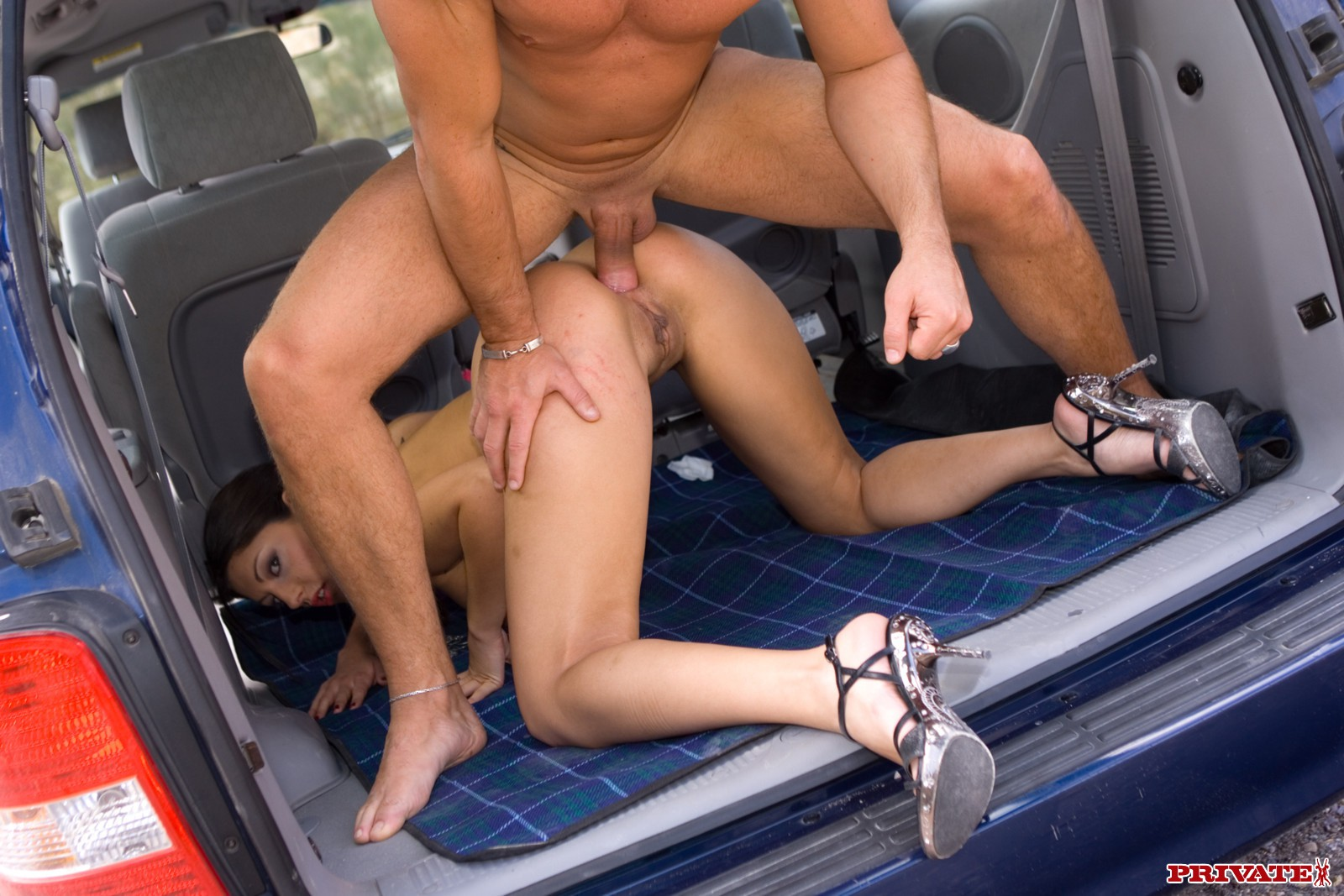 Topless models taking a skinny well rich in the car by pornolocas friend porn