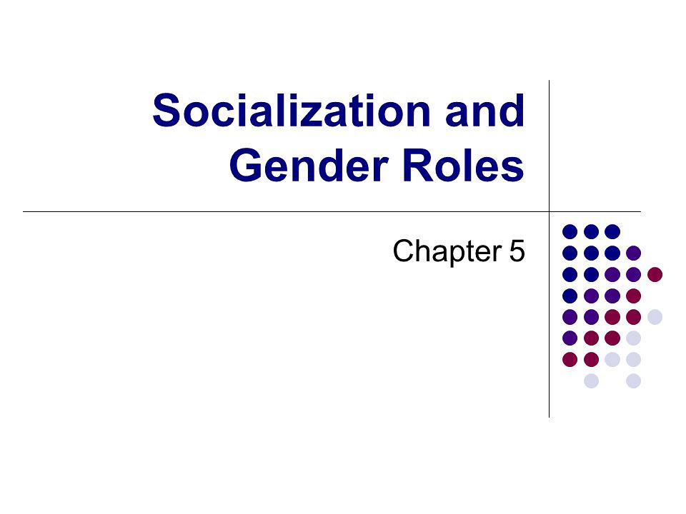 Gender role essay topics