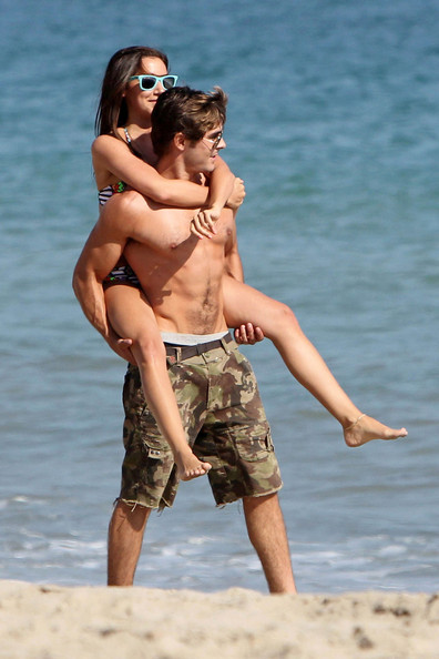 Cele|bitchy - Rumer Willis and Zac Efron are heating up