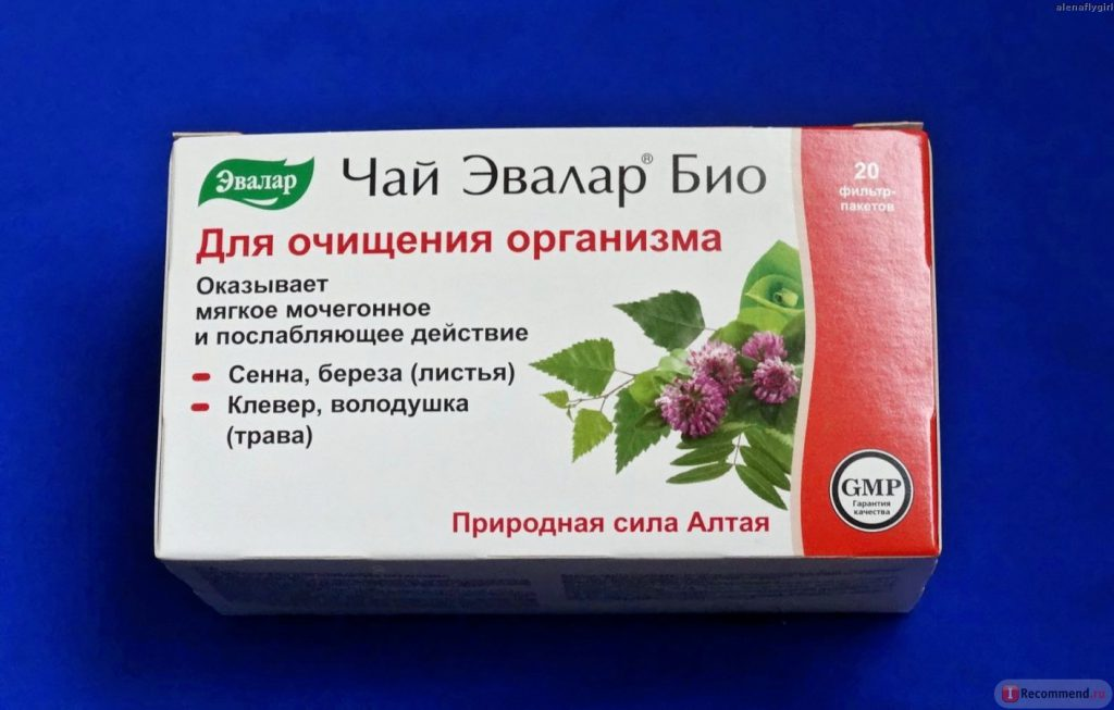 Травяной чай для очищения организма от шлаков