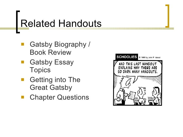 Write my great gatsby paper