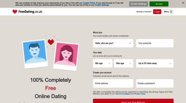 dating no email address