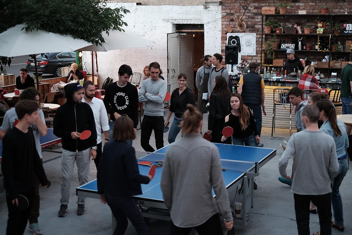 Клуб для пинг понга в москве фитнес клубы лакшери москва