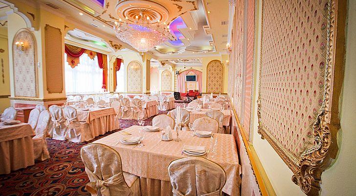 Ресторан Золотой шафран - фотография 2 - Банкетный зал