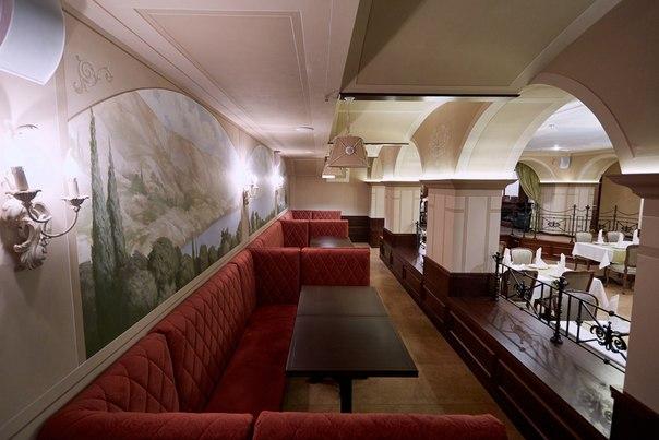 """Ресторан Брецель - фотография 2 - Ресторан """"Брецель"""" - мягкая зона"""