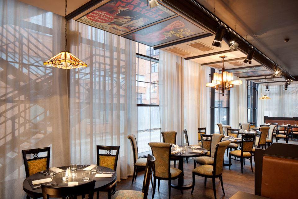 Ресторан Mary Jane - фотография 8 - Каминный зал