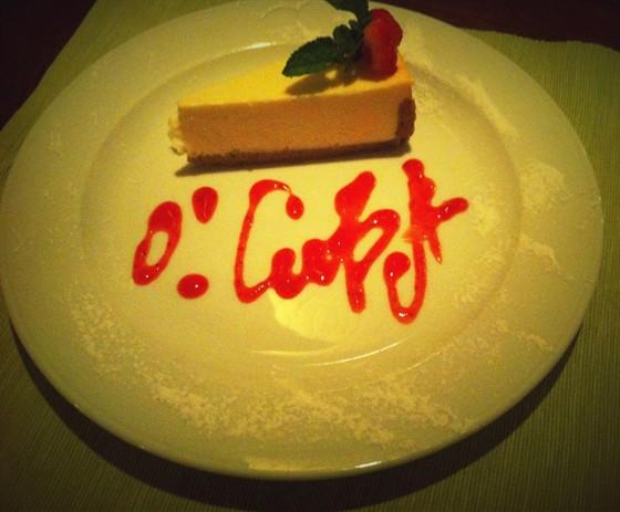 Ресторан O! Cuba - фотография 17 - Очень вкусный десерт, украшен прекрасно!!! Советую!!