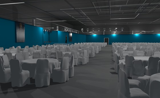 Ресторан Большой ресторан в Ленэкспо - фотография 2