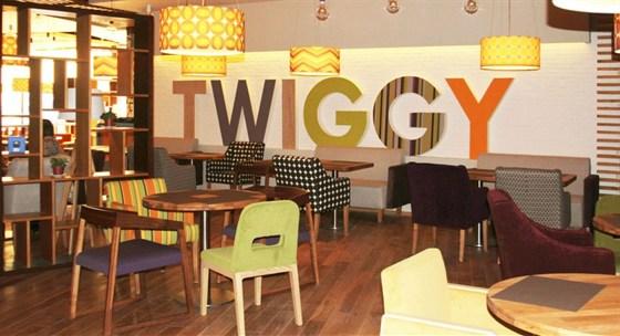 "Ресторан Twiggy - фотография 3 - Ресторан ""Twiggy"", интерьер"