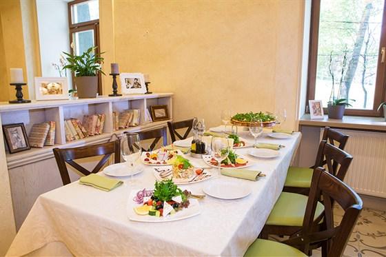 Ресторан Da Pino - фотография 7 - Банкетный зал.