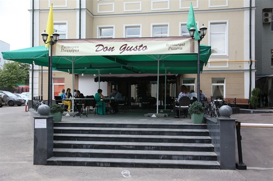 """Ресторан Don Gusto - фотография 5 - Входная группа в ресторан """"Don Gusto"""""""