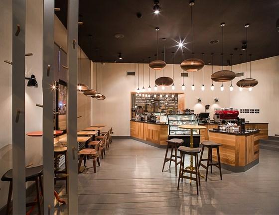 Ресторан Bonch - фотография 2 - Интерьер Bonch Coffee Bar
