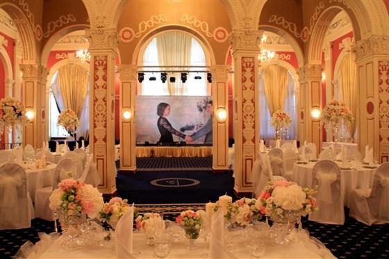 Ресторан Royal Hall - фотография 9 - Свадьба Королевский зал