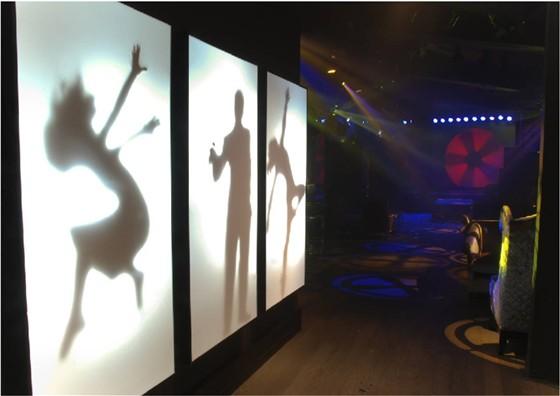 Ресторан Гусятникофф - фотография 11 - Интерьер ночного клуба.