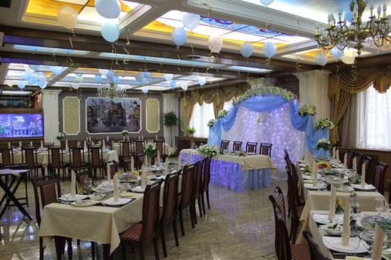 Ресторан Грин-палас - фотография 3 - Банкет в главном зале.
