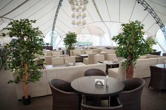 Ресторан Andiamo - фотография 28 - Летняя веранда