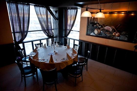 """Ресторан Баден-Баден - фотография 12 - """"Мангальный"""" зал"""