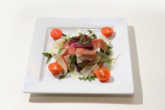 Ресторан Fantasia del Mare - фотография 13 - Хамон с испанской дыней