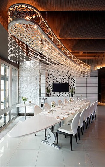 Ресторан Sky Lounge - фотография 7 - Sky Lounge Пентхаус 23 этаж