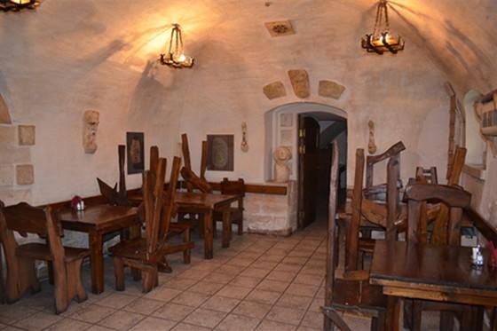 Ресторан Табурет - фотография 13 - Зал Друиды