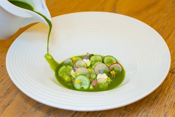 Ресторан Золотой - фотография 31 - летние блюда