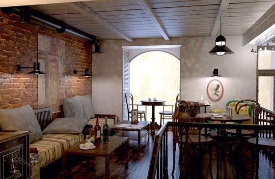Ресторан Панаехали - фотография 3 - Vip антресоль
