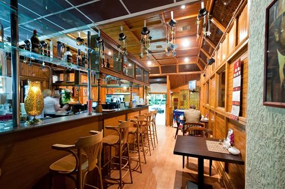 Ресторан А ля русс - фотография 4 - Лобби-бар