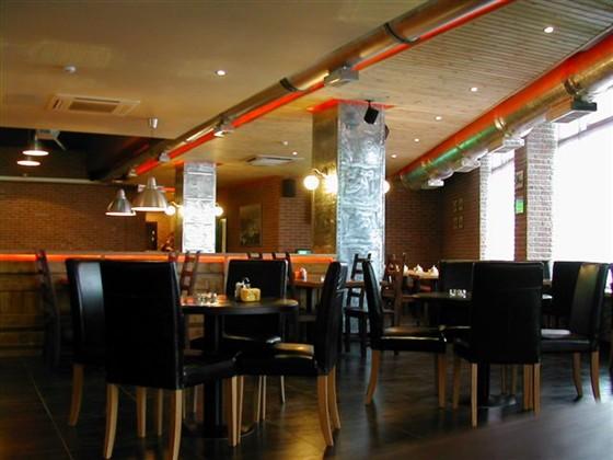 Ресторан Еврогриль - фотография 10 - В зале