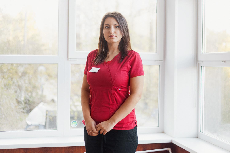 Вероника Лабынцева, ветеринарный врач-терапевт