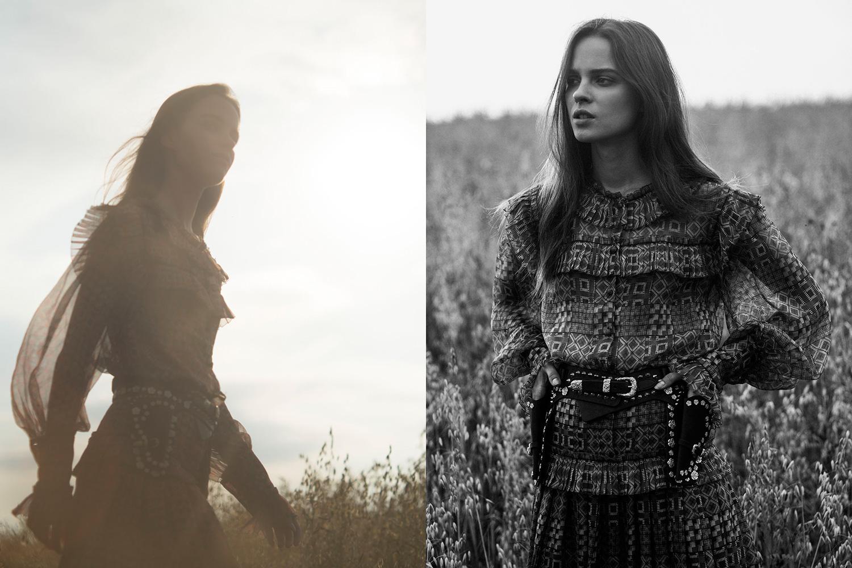 Платье Chanel, 54800 р., кобура Chanel, 36500 р.