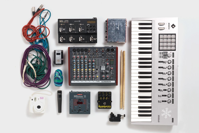 Электронные сетапы музыкантов