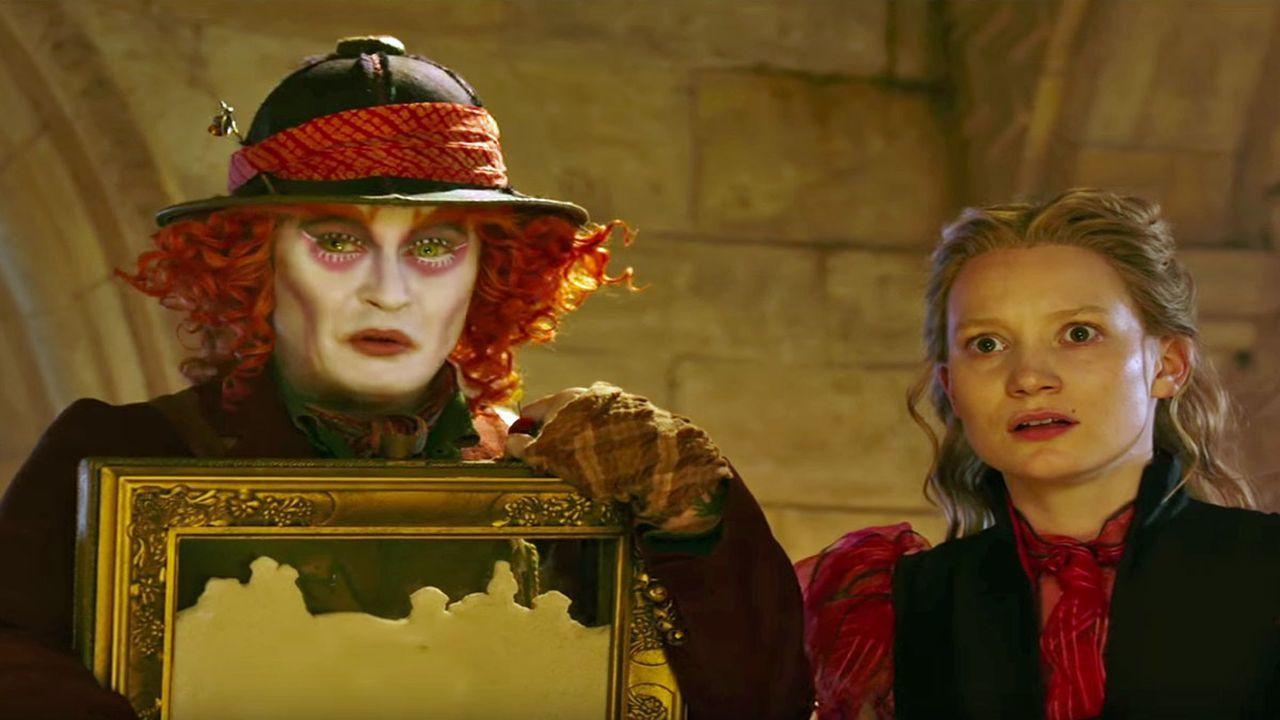 Алиса в Зазеркалье смотреть фото