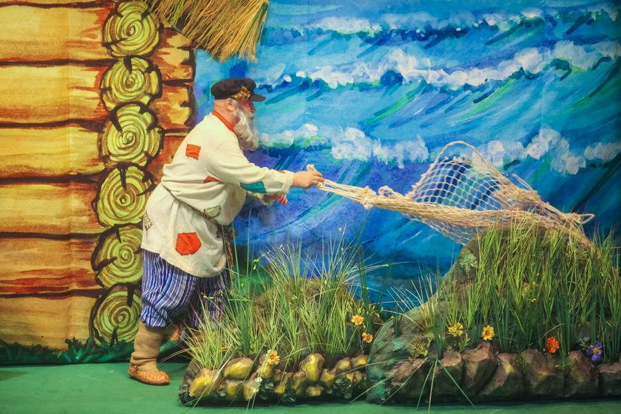 Сказка рыбки золотой смотреть фото
