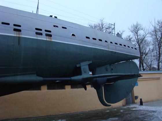 Фото музей Подводная лодка Д-2 «Народоволец»