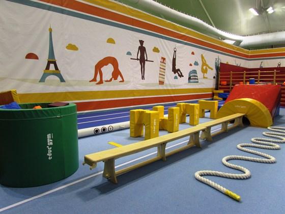 Фото европейский гимнастический центр на Киевском шоссе