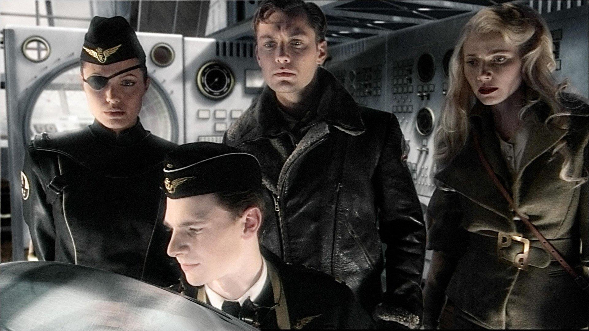 Небесный Капитан и мир будущего смотреть фото