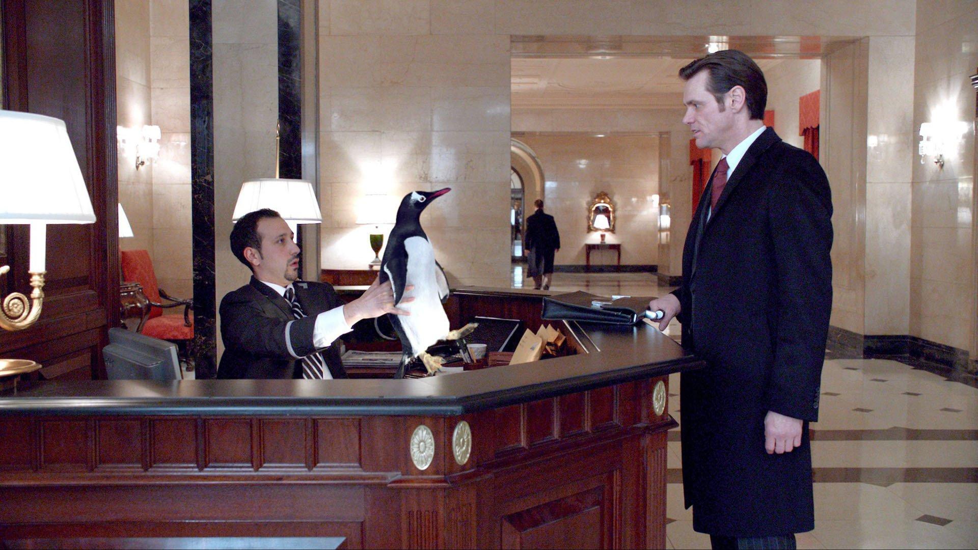 Пингвины мистера Поппера смотреть фото