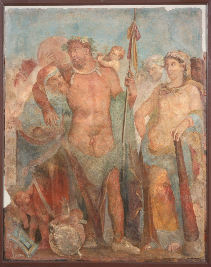 Возрожденные из пепла. Шедевры Помпей и Геркуланума смотреть фото