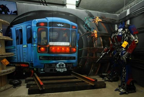 Фото музей Империя роботов