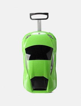 Чемодан «Car green»