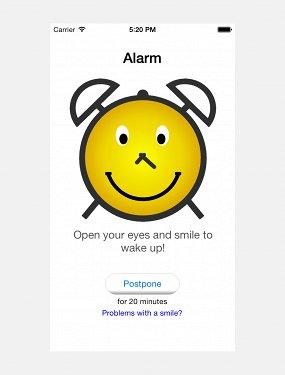 Приложение Smile to Wake Up