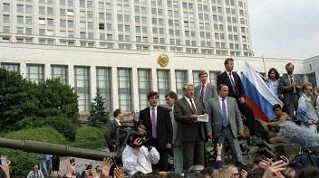 Август 1991. Люди на площади
