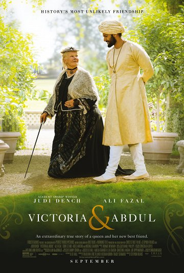 Постер Виктория и Абдул