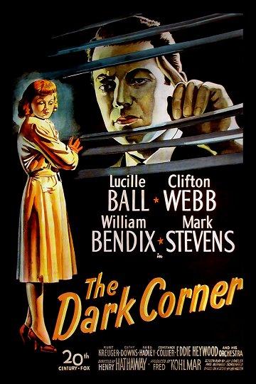 Постер Темный угол