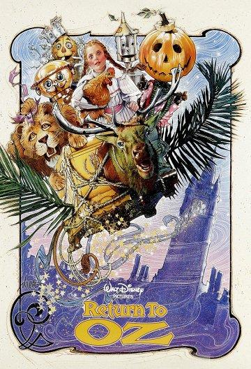 Постер Возвращение в страну Оз