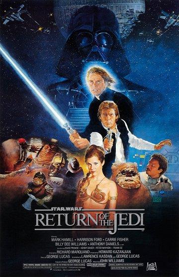 Постер Звездные войны. Эпизод VI: Возвращение Джедая
