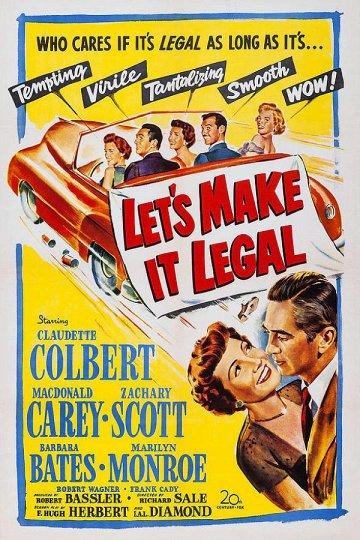 Постер Давай сделаем это легально