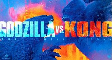 Постер Годзилла против Кинг-Конга